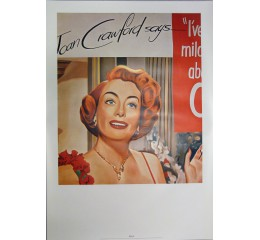 James Rosenquist: Untitled (Joan Crawford says)