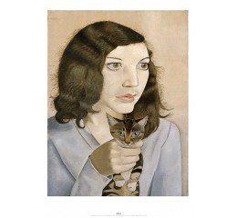 Lucian Freud: Girl with a Kitten