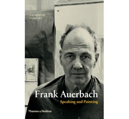 Frank Auerbach Speaking and painting
